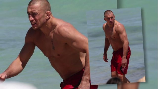 News video: SNTV - Georges St-Pierre Takes His Torn ACL to the Beach