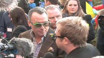 News video: Elton John To Marry Partner As Britain Legalizes Gay Marriage